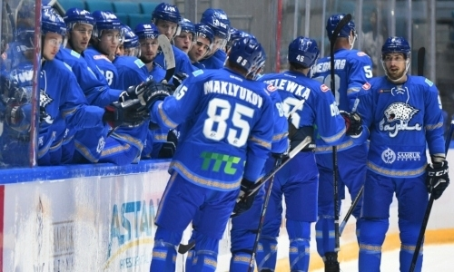 Прямая трансляция матча КХЛ «Барыс» — «Спартак» из Алматы