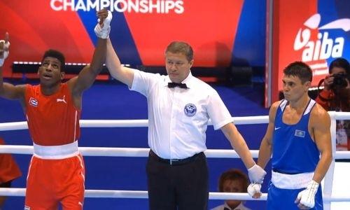 Видео боя, или Как Казахстан потерял первого боксера на чемпионате мира-2019