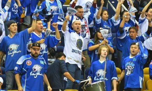 Как «Барыс» разнес «Спартак» в первом в истории матче в Алматы с курьезом и дракой. Видео
