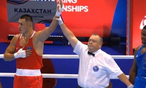 Видео боя, или Как казахстанский супертяж избивал пятикратного чемпиона Германии на ЧМ-2019
