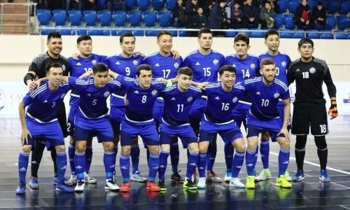 Объявлен состав сборной Казахстана на международный турнир в России
