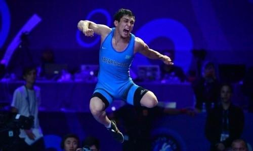 Казахстанский борец победил лидера мирового рейтинга и вышел в финал чемпионата мира в Нур-Султане