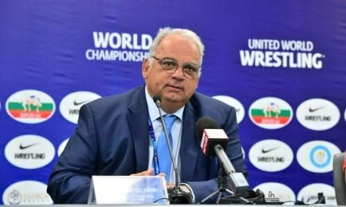 Президент Объединенного мира борьбы оценил перспективы сборной Казахстана