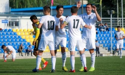 «Жетысу Б» и «Байконур» поделили очки в матче Первой лиги
