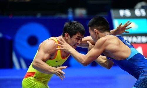 Казахстанский борец завоевал серебряную медаль на чемпионате мира в Нур-Султане