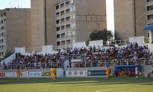 Матч в Актау стал самым посещаемым в 21-м туре Первой лиги