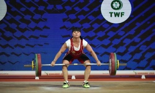 Чиншанло осталась без медали чемпионата мира по тяжелой атлетике в Таиланде