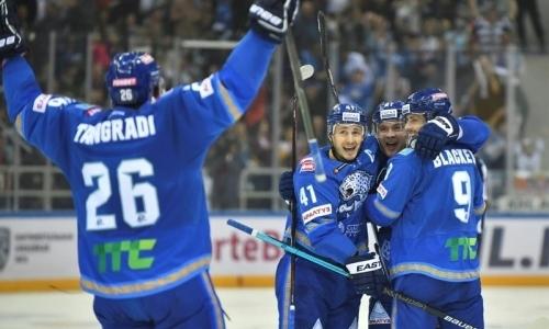 Отчет о матче КХЛ «Барыс» — «Трактор» 2:0