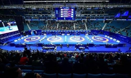 Прямая трансляция чемпионата мира-2019 по борьбе с участием казахстанцев