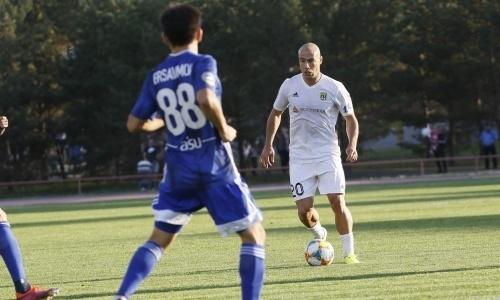 Канкава сыграл 50-й матч за «Тобол»