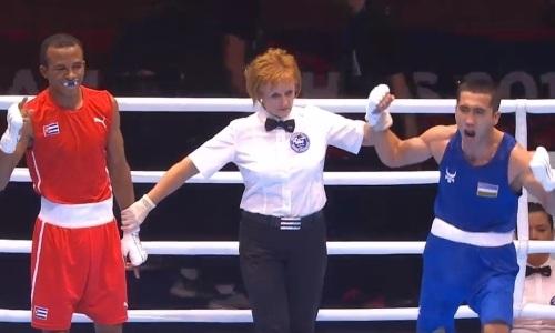 Узбекский боксер после Ералиева рассек бровь трехкратному чемпиону мира и выиграл «золото» ЧМ-2019