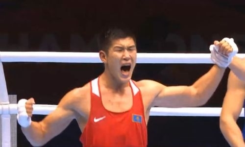 Видео боя, или Как 22-летний казахстанский боксер побил узбека и стал чемпионом мира
