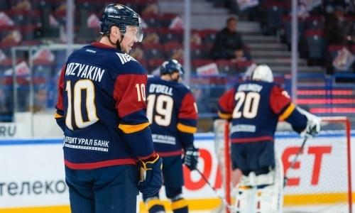 Клуб КХЛ потерпел домашнее поражение перед матчем с «Барысом»