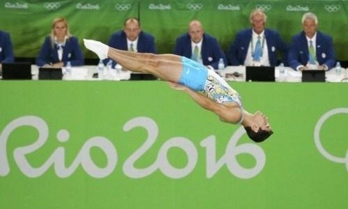 Казахстанцы завоевали бронзовые медали этапа Кубка мира по батутной гимнастике