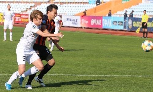 «Тобол» после спорного удаления у «Шахтера» забил на 89-й минуте и сохранил лидерство в КПЛ