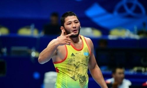 Казахстанский борец упустил возможность завоевать олимпийскую лицензию