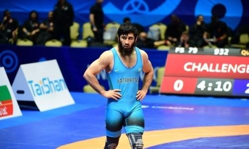Казахстанский борец уступил в схватке за «бронзу» ЧМ-2019