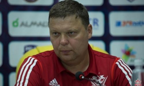«Мы не были трусливыми на поле». Тренер «Актобе» — о нехватке мастерства в матче с «Ордабасы»