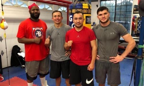 Чемпион WBC из Казахстана обратился к Головкину перед боем на «арене мечты»