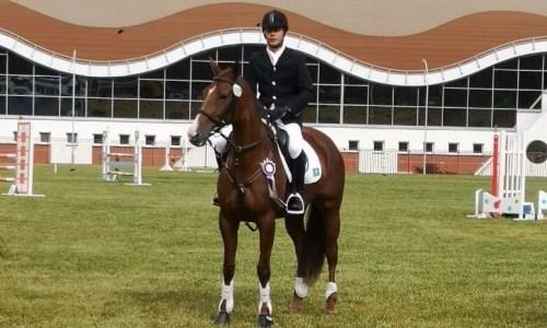Казахстанский конник стал вторым на международном турнире в Беларуси