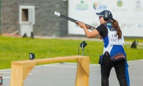 Казахстанка завоевала «бронзу» на чемпионате Азии по стендовой стрельбе