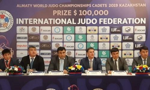 Двойной состав выставит Казахстан на домашний ЧМ-2019 по дзюдо среди кадетов