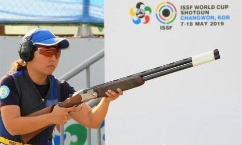 Казахстан завоевал еще три медали на чемпионате Азии по стендовой стрельбе в Алматы