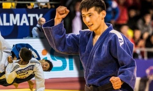 Казахстанец стал чемпионом мира по дзюдо среди кадетов