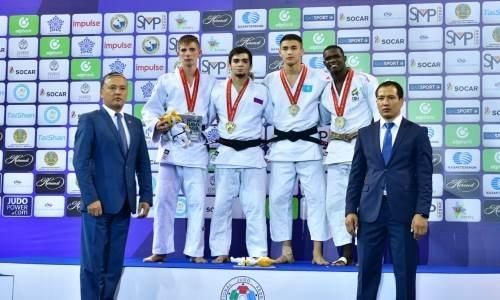 Казахстанский дзюдоист завоевал бронзовую медаль на чемпионате мира