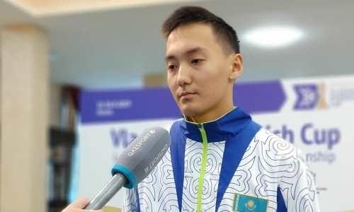 Казахстанец взял «золото» на Кубке Владимира Дворковича