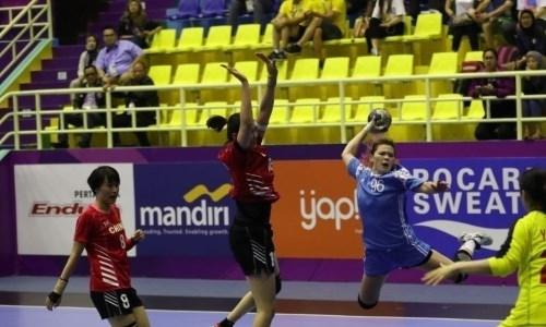 Женская сборная Казахстана уступила Китаю на чемпионате Азии