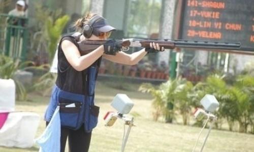Казахстанская спортсменка завоевала «серебро» на чемпионате Азии по стендовой стрельбе