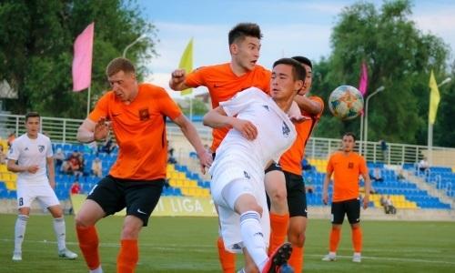 «Экибастуз» сыграл вничью с «Жетысу Б» в матче Первой лиги
