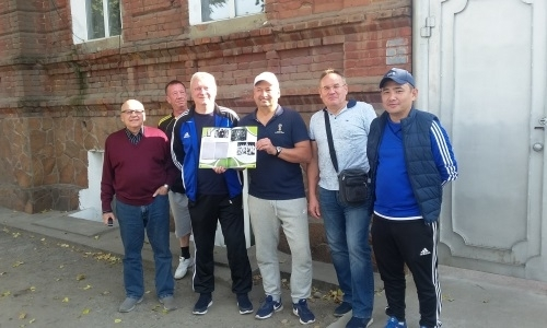 В преддверии «Недели футбола» прошла акция «Семей-родина Казахстанского футбола»