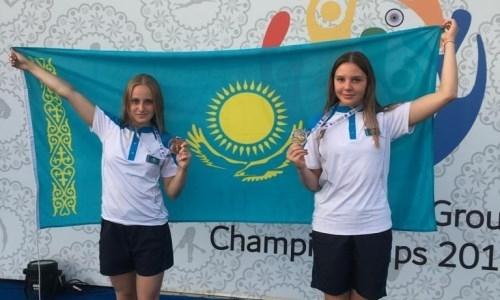 Казахстанки взяли три медали на ЧА-2019 среди возрастных групп в прыжках в воду