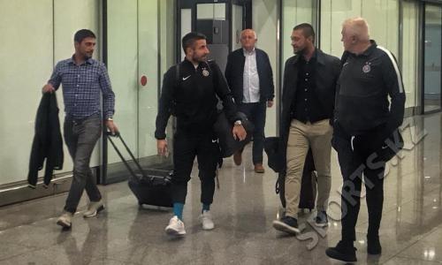 «Партизан» прибыл в Нур-Султан на матч Лиги Европы с «Астаной»