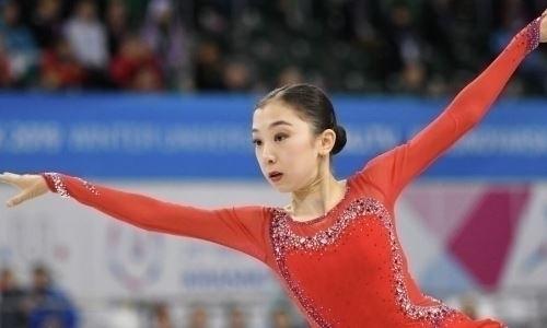 Турсынбаева — вторая после короткой программы на Shanghai Trophy