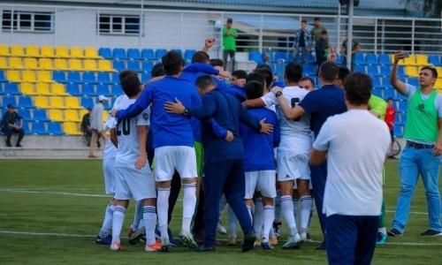 «Жетысу Б» продлил беспроигрышную серию до 12-и матчей в Первой лиге