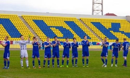 «Акжайык» совершил камбэк в матче Первой лиги с «Академией Оңтүстік»