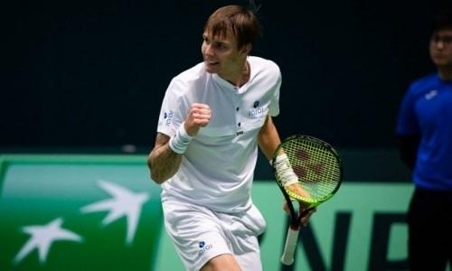Казахстанский теннисист обновил личный рекорд рейтинга ATP