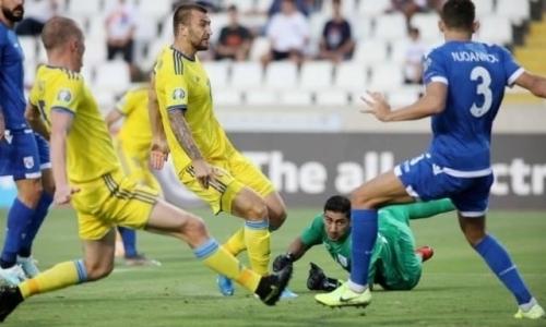 Россияне рассчитывают попасть на ЕВРО-2020 за счет потери очков сборной Казахстана