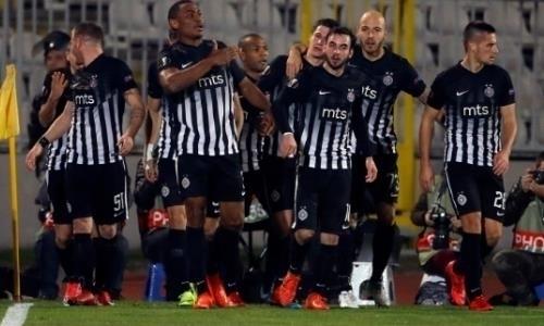 «Партизан» после победы над «Астаной» разгромил соперника ивышел в1/8 финала Кубка Сербии