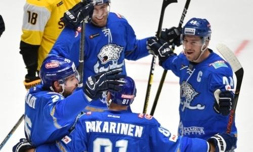 Вау! «Барыс» на выезде победил «Салават Юлаев» и стал лидером дивизиона КХЛ