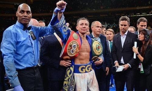 Стало известно, как Головкин отметил завоевание чемпионских титулов