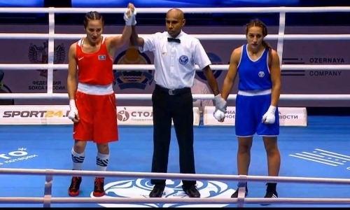 Казахстанка вышла в полуфинал чемпионата мира по боксу