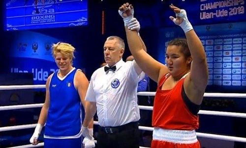 Вторая казахстанская боксерша пробилась в полуфинал чемпионата мира-2019