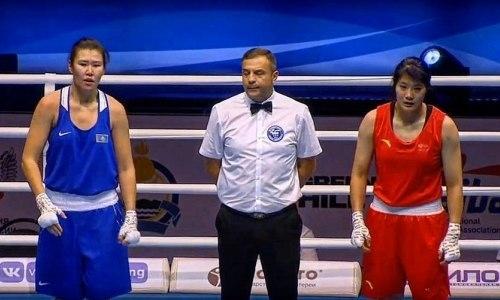 Казахстанская боксерша уступила китаянке инесмогла пробиться вполуфинал ЧМ-2019
