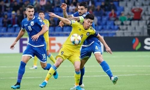Нисебе, нилюдям. Сборная Казахстана лишила праздника российских футболистов