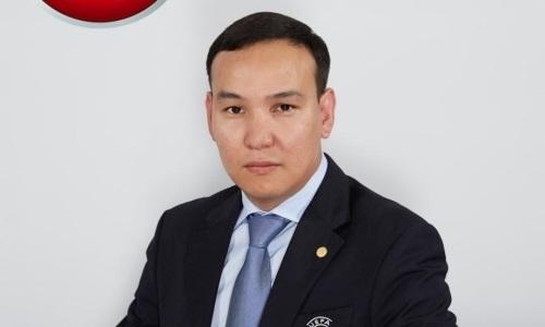 Олжас Абраев — делегат матча отбора ЕВРО-2020 Турция — Албания