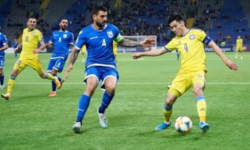 Футболисты сборной Казахстана провели свои юбилейные матчи